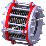 Bellow type dismantling joint